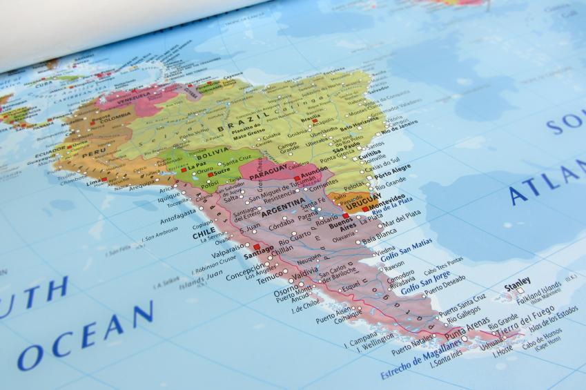 Cules son los pases e islas de Amrica Central y el Caribe