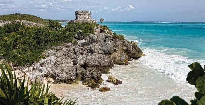 Playa Riviera Maya, Quintana Roo, México.