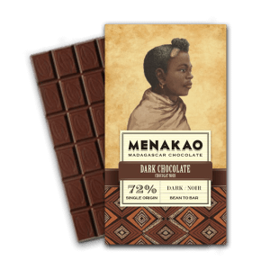 Menakao chocolat noir 72 chocolat noir - Epices Mille Saveurs
