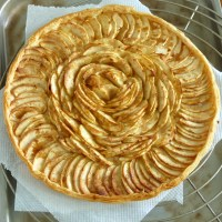 Tarte Fine aux Pommes or French Apple Tart