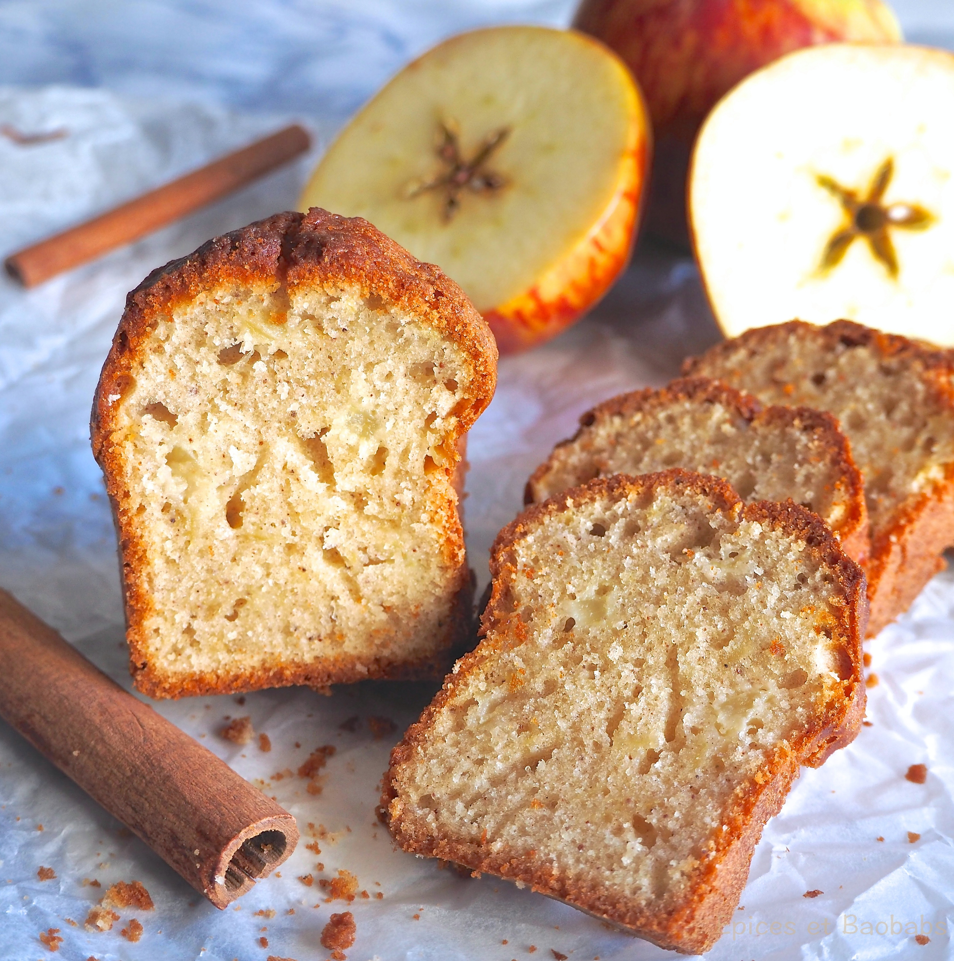 Cinnamon And Apple Cake Epices Et Baobabs