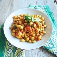 Spicy Chickpea Salad