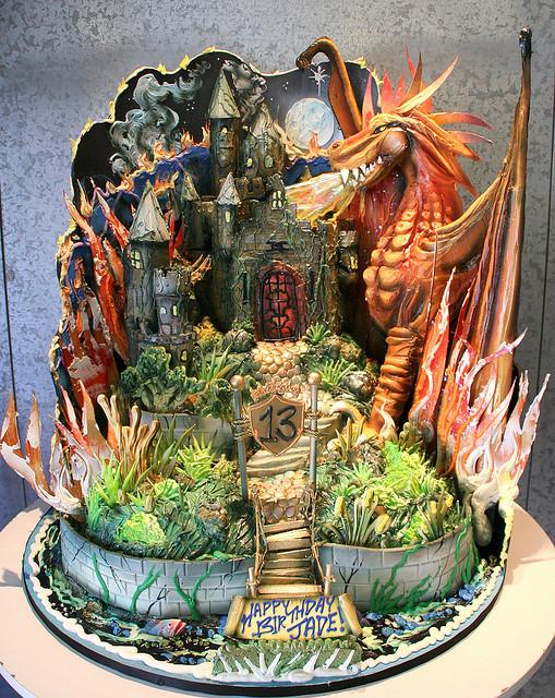 Dungeons & Dragons Birthday Cake