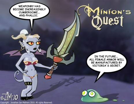 Minion's Quest webtoon cartoon animation