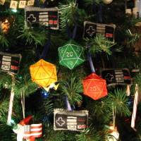 D&D Christmas Tree Ornaments