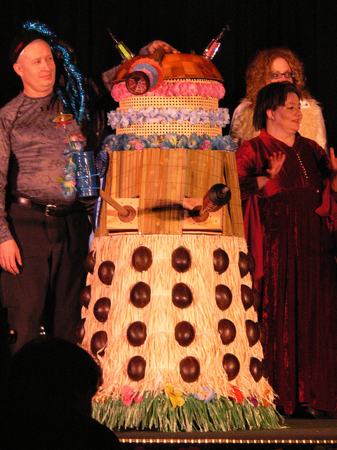 Tiki Dalek = Made of Win