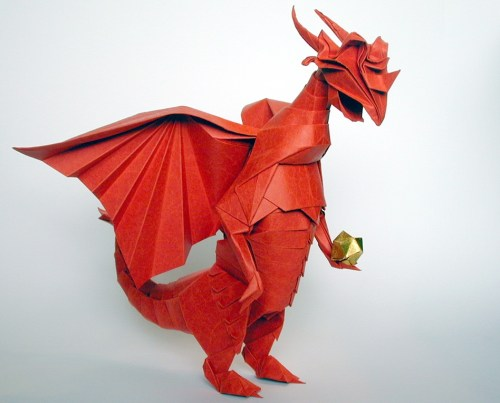 10 Amazing Origami Dragons