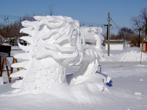 SnowDragonHead
