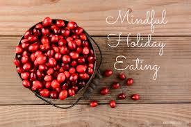Holiday healthy eating