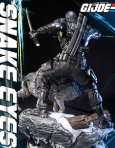 G.I. Joe Statue Snake Eyes