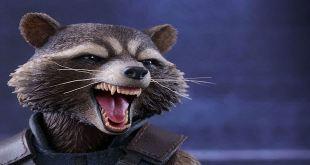 Hot Toys Rocket Raccoon Action Figure