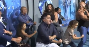 Aquaman Haka Dance