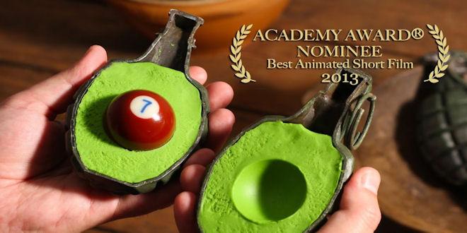 Fresh Guacamole by PES - Oscar Nominated Short Movie
