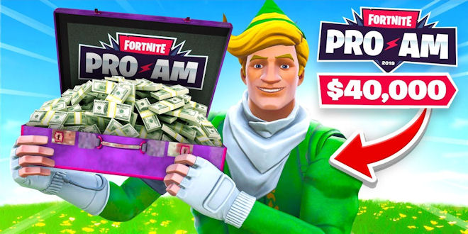 Lachlan Plays Fortnite Pro Am - Wins 40K for Charity - Video Game News