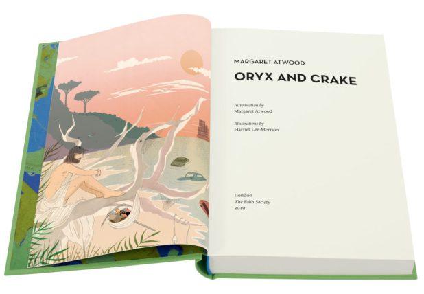 Oryx and Crake Open Book Folio Society