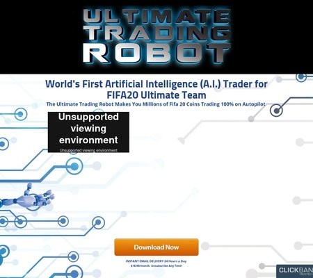 FIFA 20 Autobuyer and Autobidder OFFICIAL SITE - FUTMillionaire Trading Center — Ultimate Trading Robot