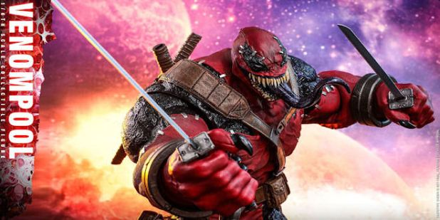 Marvel Venompool - 1/6 Action Figure - Contest of Champions - Hot Toys Exclusive
