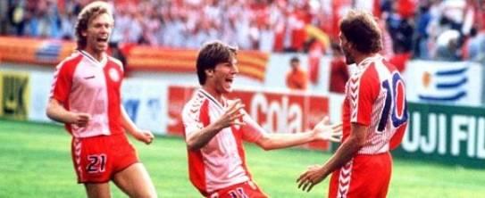 Futebol é camisa. Dinamáquina - 1986 encantou o mundo mas... parou nas quartas.