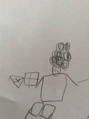 Choro do David Luiz (M, 5 anos)