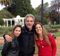 Luciana Fleury, Pancho e Mariana, Buenos Aires, 2013