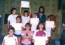 Chegada em Congonhas depois do Maurício Becken de Porto Alegre - 1980.