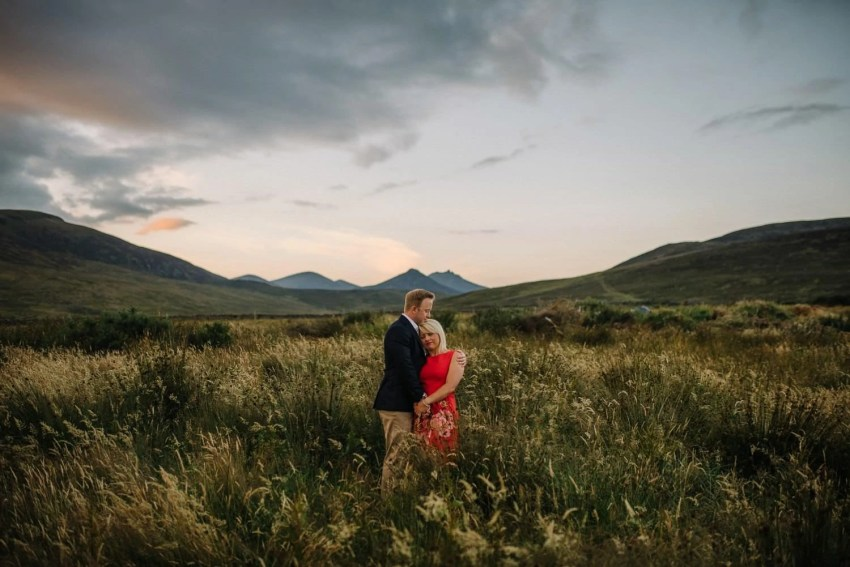 Mourne Mountains engagement wedding photographer Northern Ireland