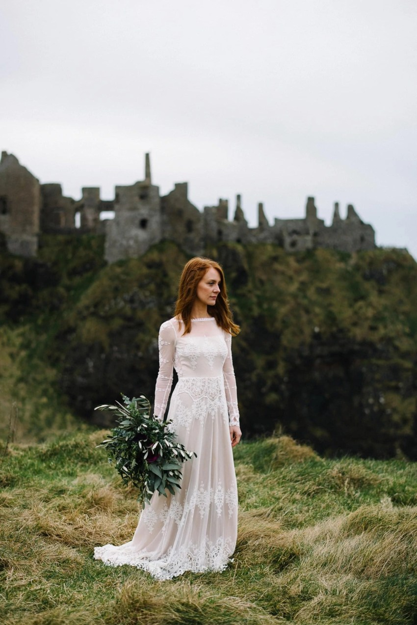 Dunluce Castle Elopement photographer Northern Ireland elopement photography