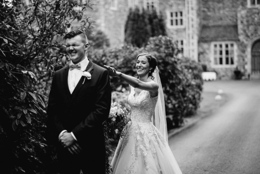 Irish destination wedding at a castle