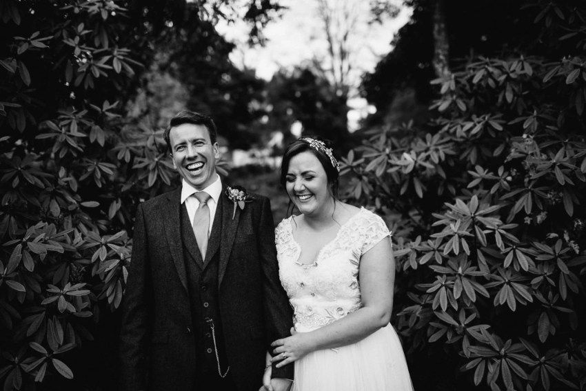 Fun wedding photographer Northern Ireland