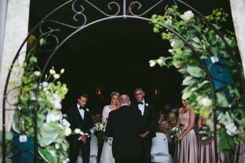 Castle Leslie Estate wedding