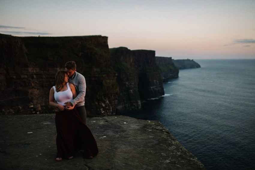 Cliffs of Moher Elopement Ireland adventure session