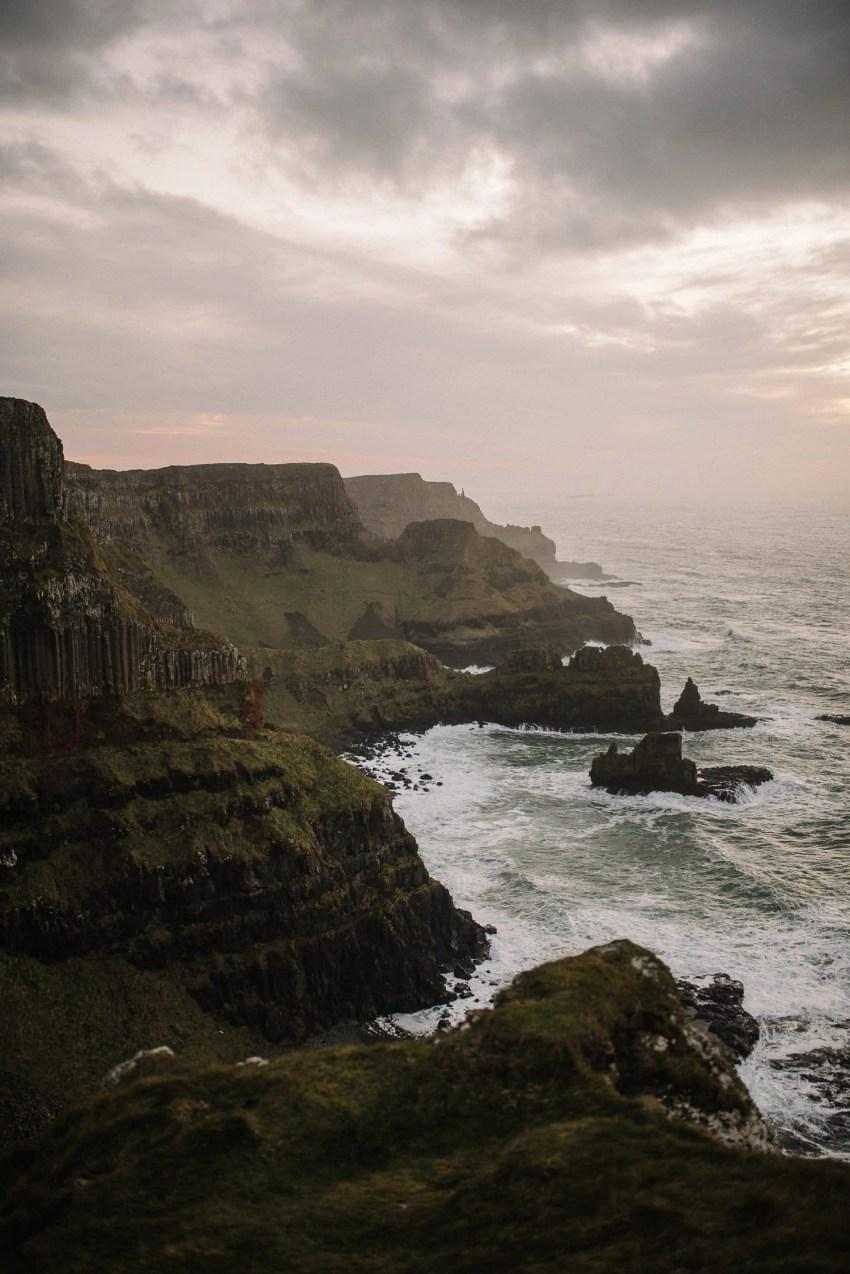 Northern Ireland Adventure elopements Dunluce castle-100001-2