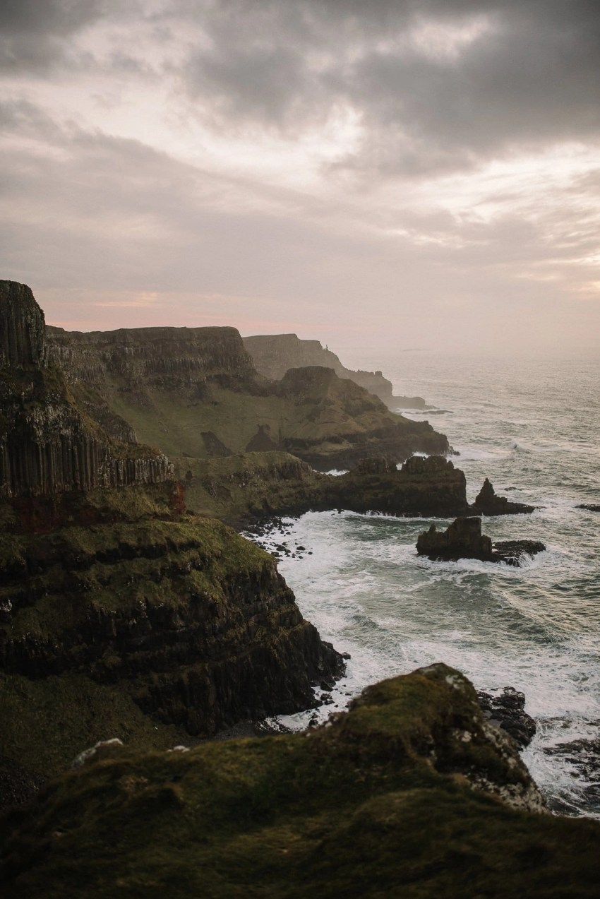 Northern Ireland Adventure elopements Dunluce castle-100001-2