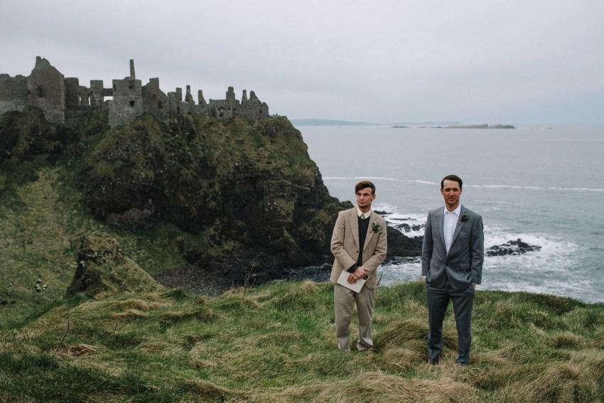 Dunluce Castle Elopement Northern Ireland Irish elopement_0031.jpg