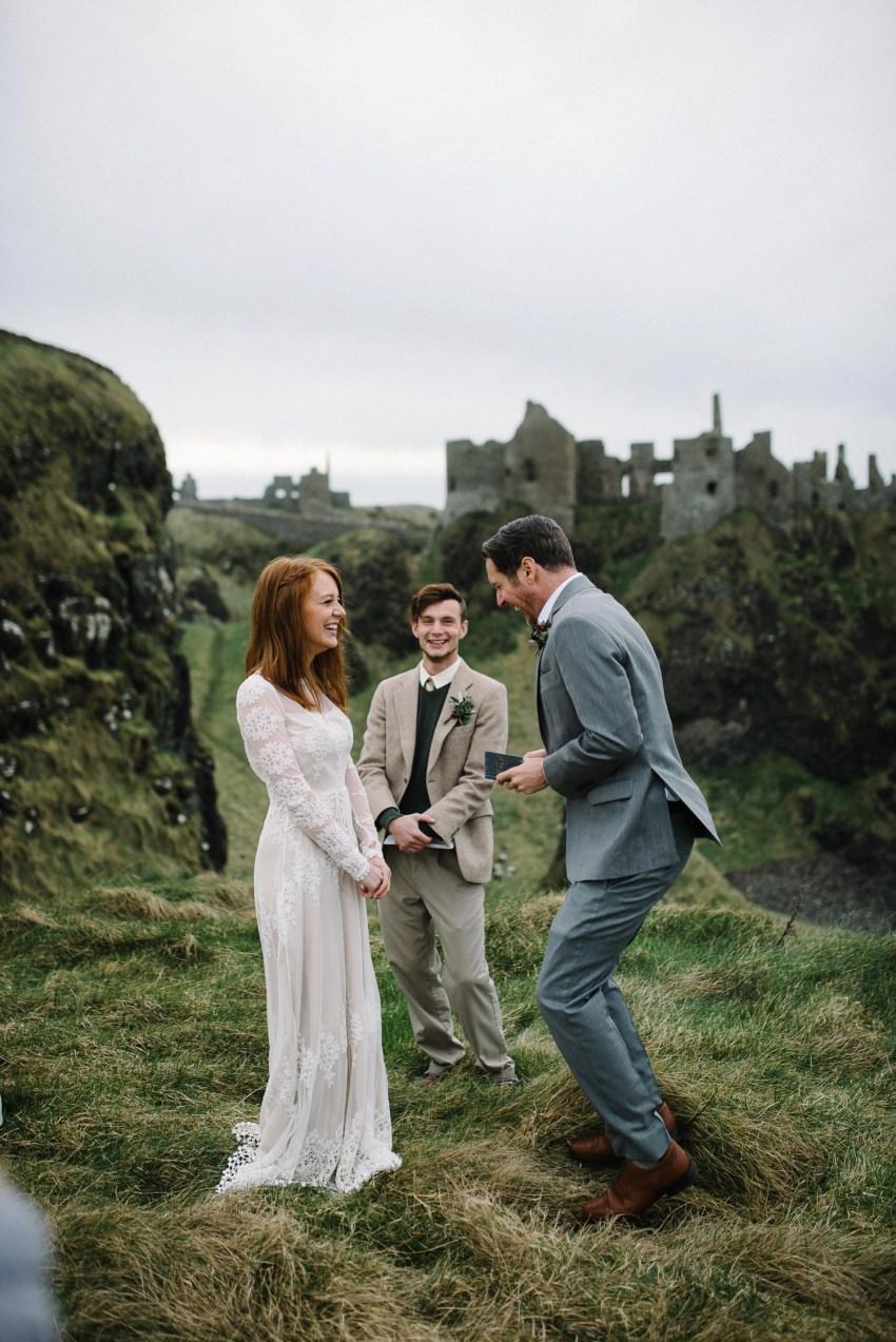 Dunluce Castle Elopements Northern Ireland Irish elopement_0041.jpg