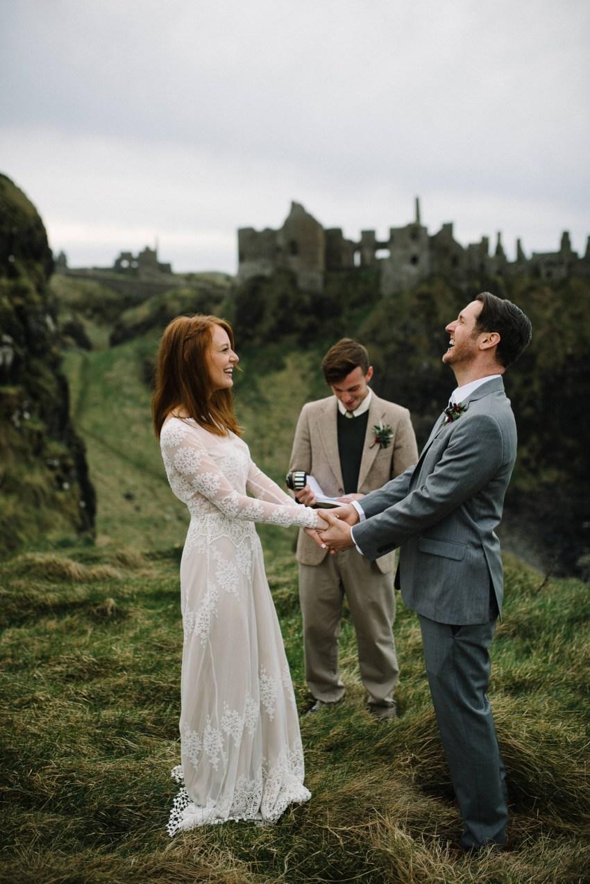 Dunluce Castle Elopements Northern Ireland Irish elopement_0046.jpg