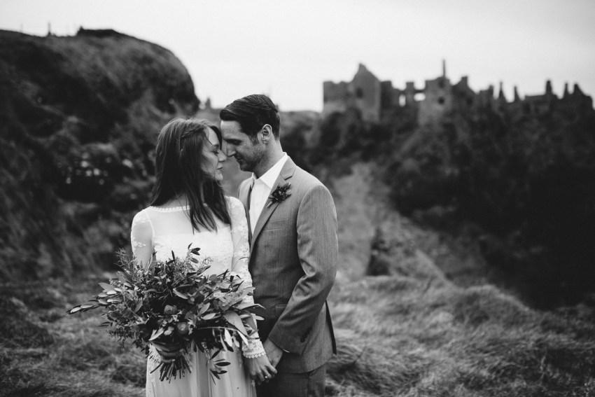 Dunluce Castle Elopement Northern Ireland Irish elopement_0057.jpg