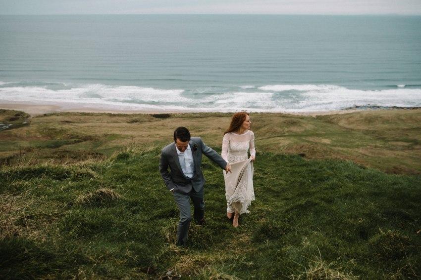 Dunluce Castle Elopement Northern Ireland Irish elopement_0073.jpg