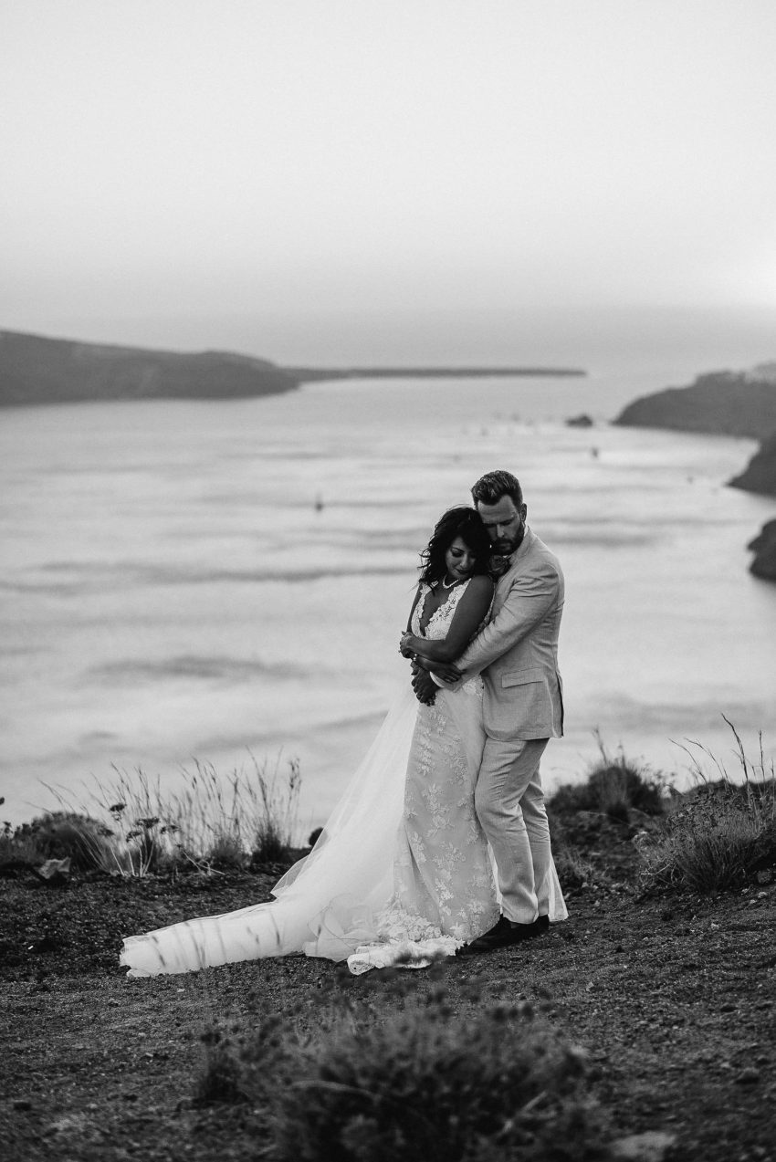 Initimate Santorini Destination wedding -1-3