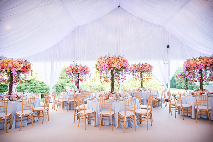 Luxurious Wedding Decor Ideas With Floral Creations