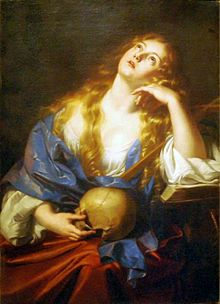 Penitent Mary Magdalene by Nicolas Regnier