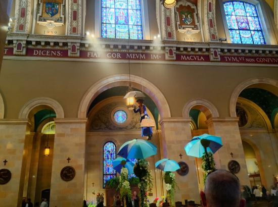 Custodian Arrested for Destroying Buddha, Mary Poppins Displays in Cathedral