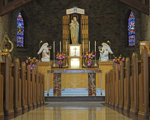 national shrine of our lady of good help of green bay