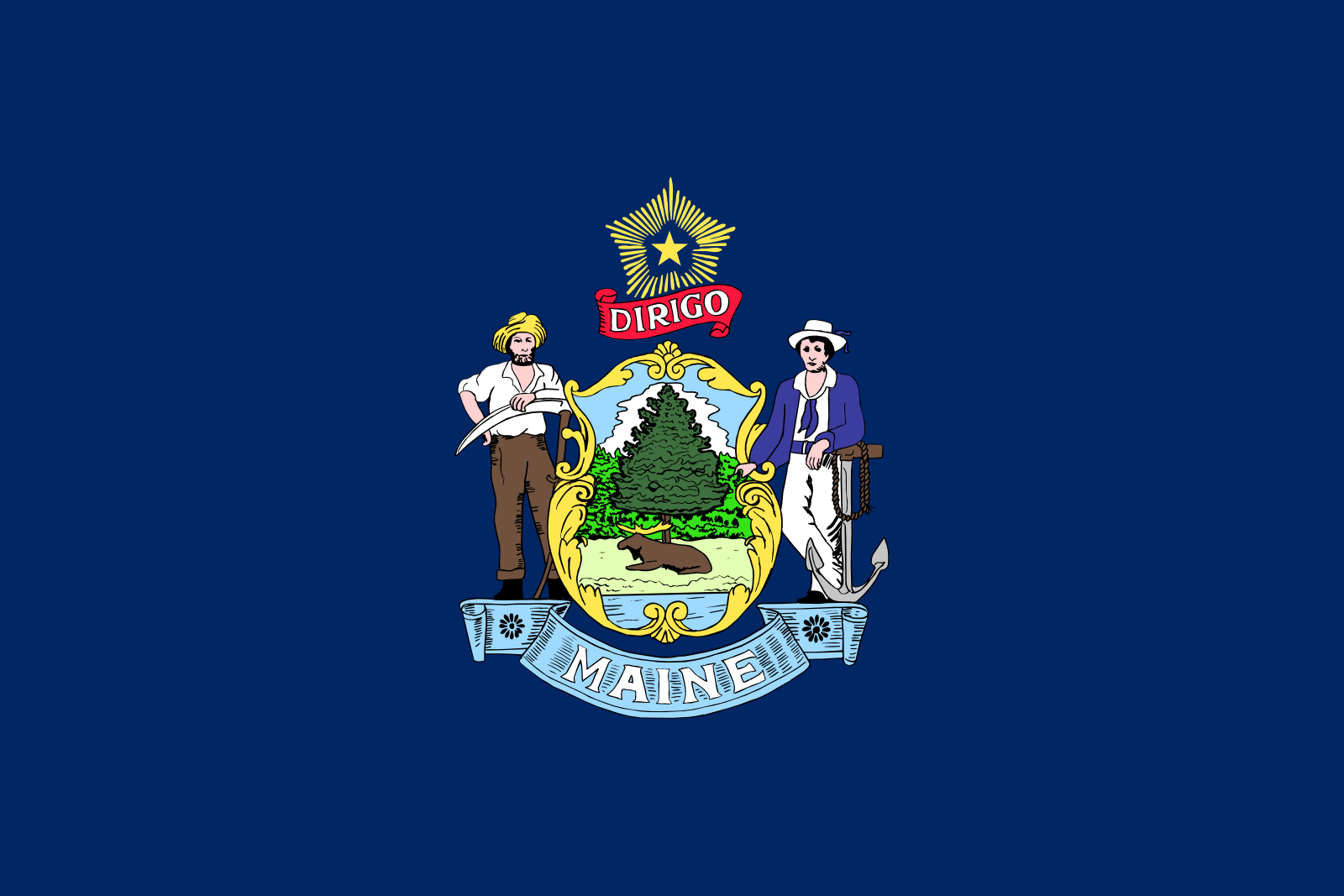 Who is the patron saint of Maine?