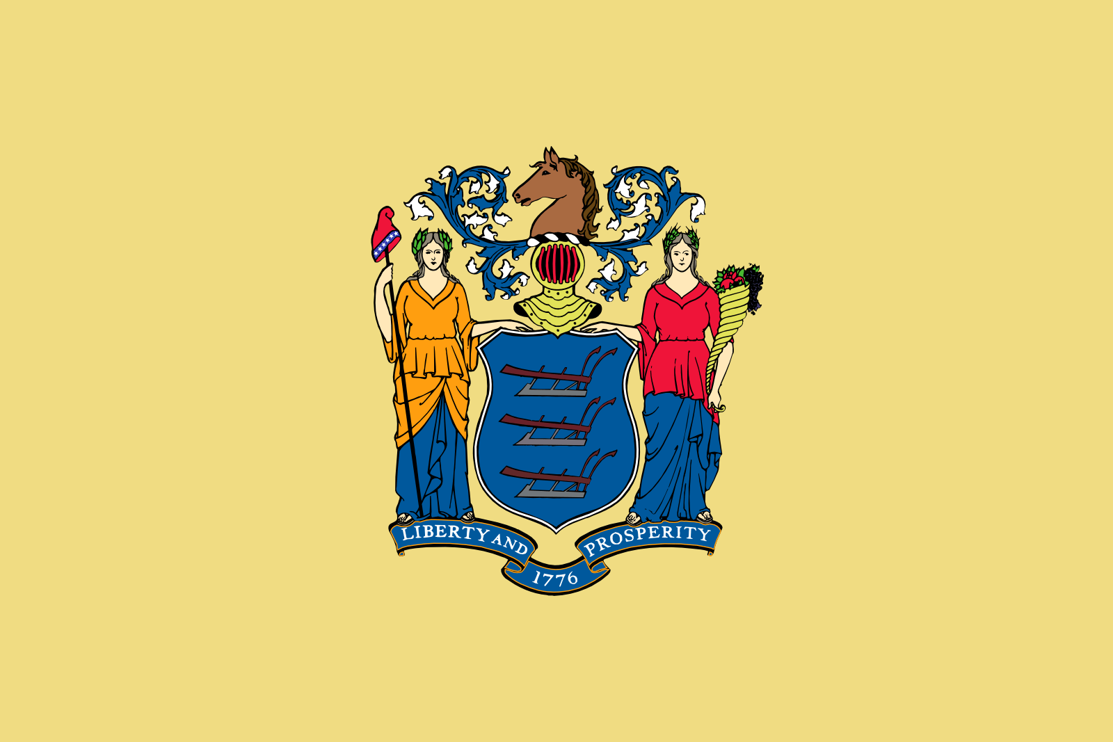 Who is the patron saint of New Jersey?