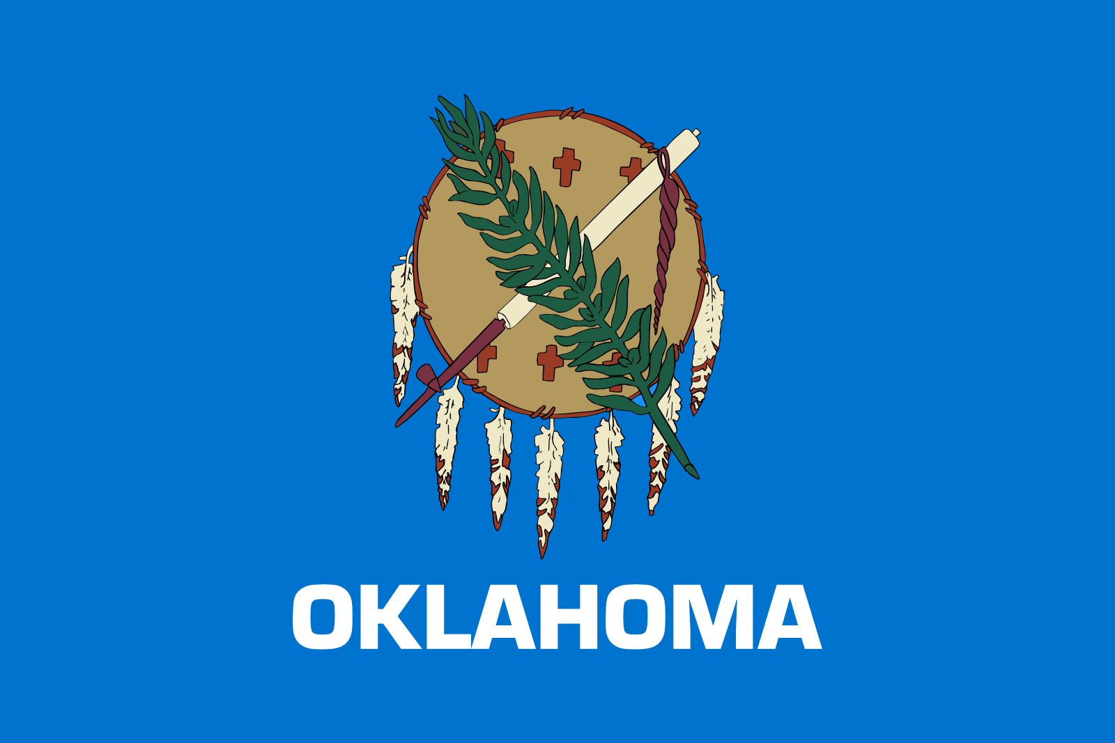 Who is the patron saint of Oklahoma?