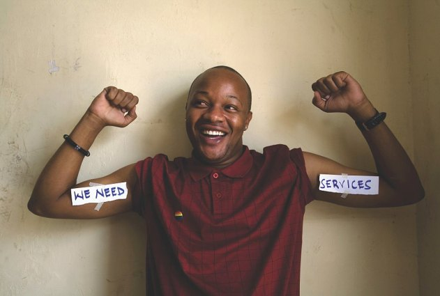 Denis Nzokia, Religious Relations Assistant at LGBT group GALCK