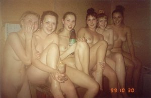 group of naked hot girls
