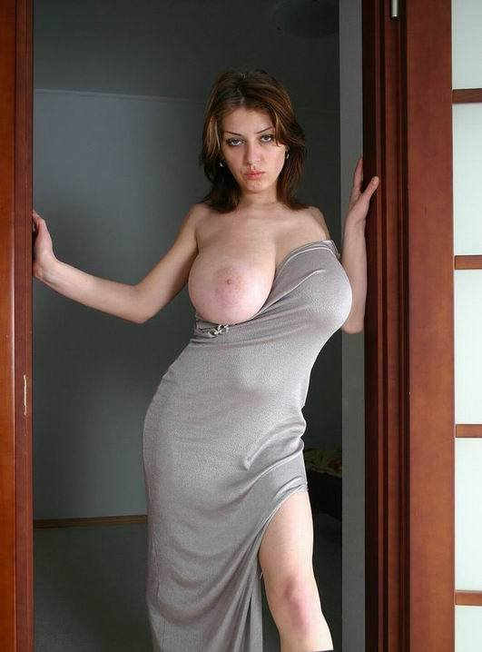 Big Tits Hanging Out Tight Dresses