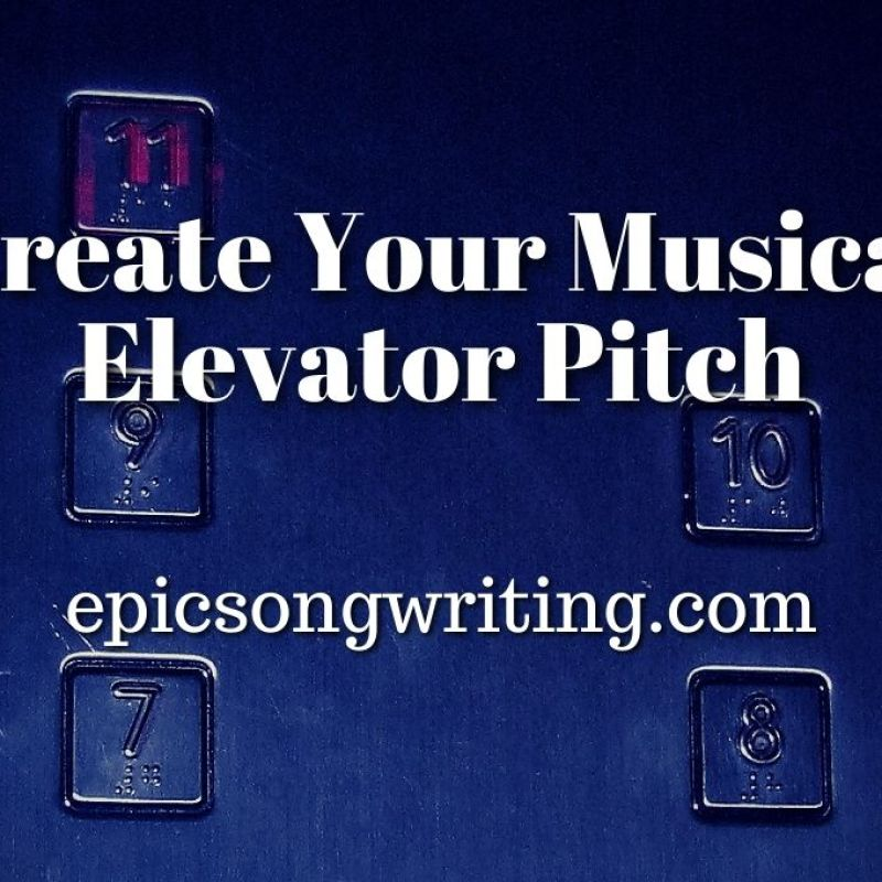 Musical Elevator Pitch, How to introduce yourself to music influencers, Music Publicity Tips